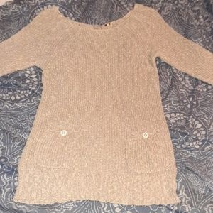 Womans cozy slouchy sweater/ sweater dress
